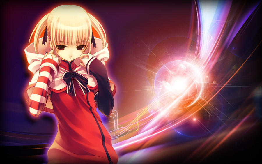 Sad girl abstract wallpaper by 2fast4udk on deviantart - Abstract anime girl ...