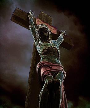 Crucifixion en verre