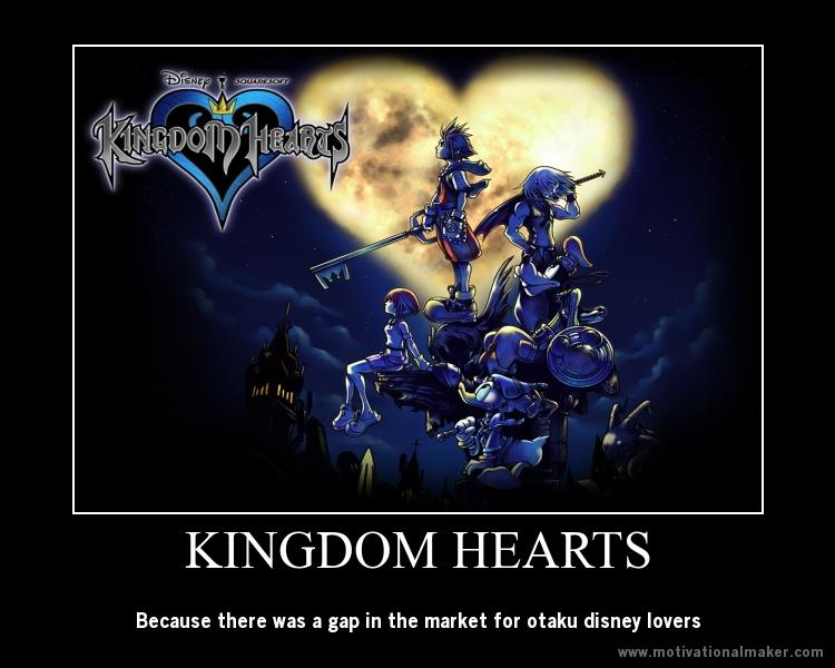 Kingdom Hearts Motivational Poster By Jumperxmelon On Deviantart