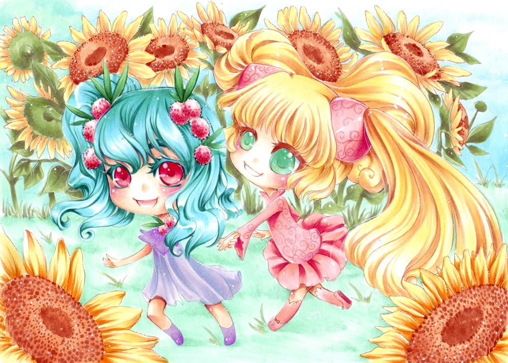 Litchi and Alice by xMeicox