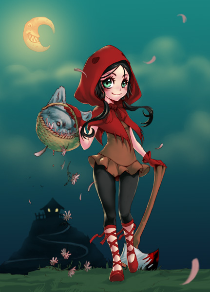 LittleRedRidingHood by xMeicox