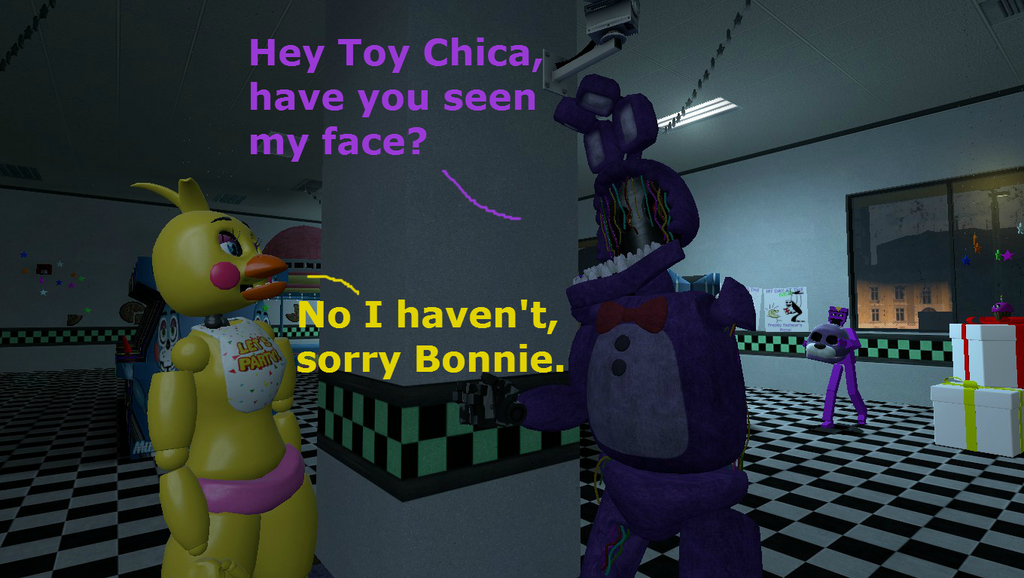 Gmod: The Thief of Bonnie's Face by stunter101