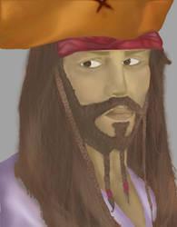 Johnny Depp   Jack Sparrow by iana88
