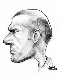 zidane caricature by efdemon