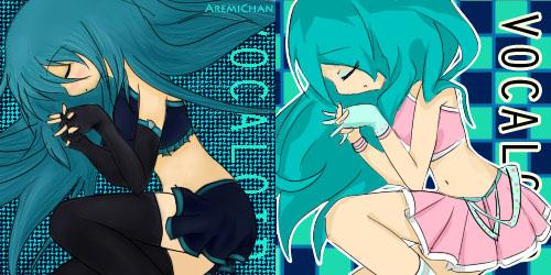 VocaloidMiku V2 by aremichan
