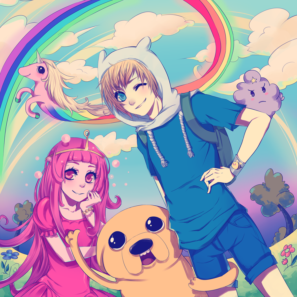 Adventure Time! by kikukikaku on DeviantArt
