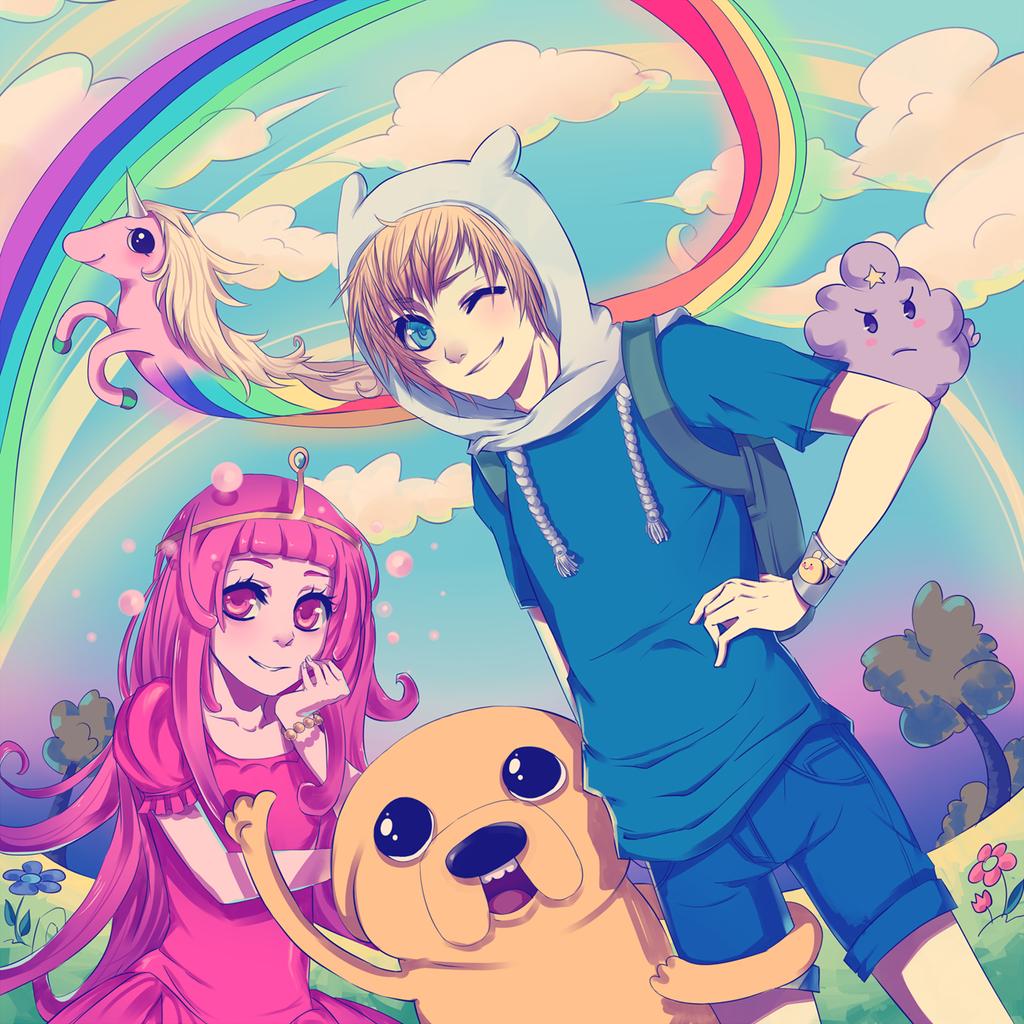 Adventure Time! by kikukikaku on DeviantArt