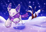 In the Snow by StormWhiskers