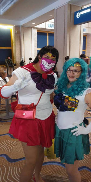 Sailor Mars at metrocon '21