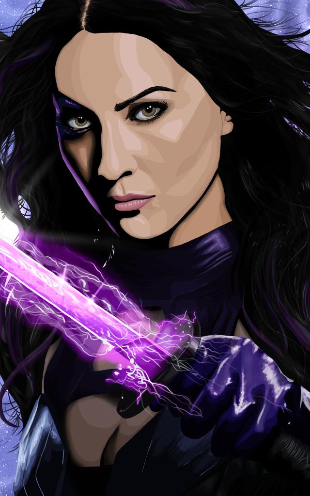 Psylocke [Olivia Munn] by TheDoctorTrash