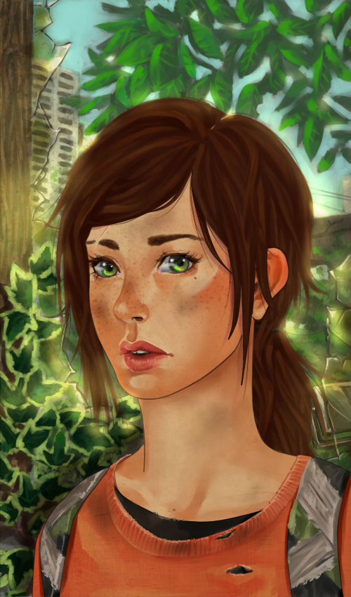 The last of us: Ellie by Nadlia