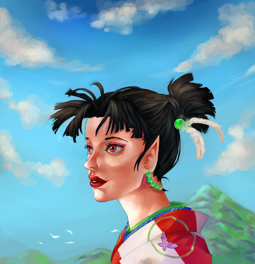 Inu-Yasha: Kagura by Nadlia