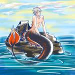 Suga the little(?) merman