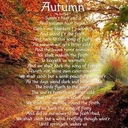 Autumn (Shakespearean version)