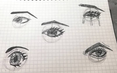Eye sketch dump