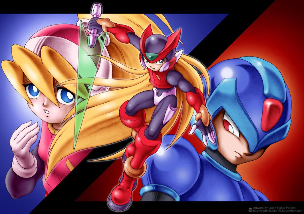 Mega Man Zero 1 by GeminiSaint-FM