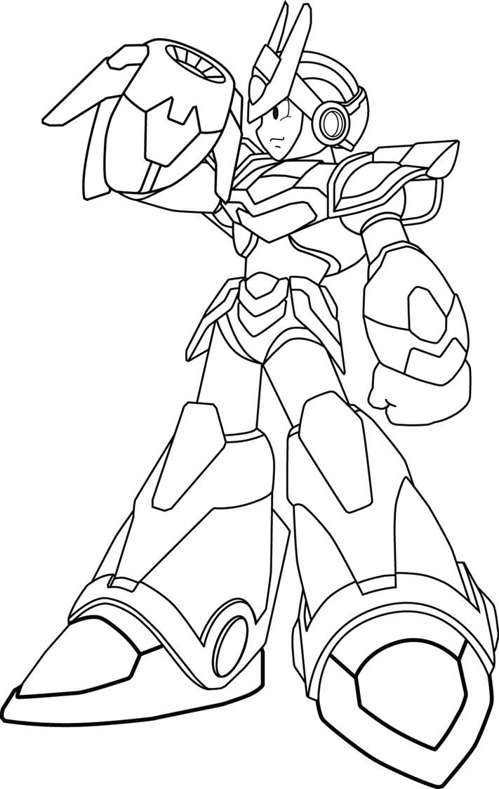 Coloring Pages Megaman Coloring Pages mega man coloring pages eassume com megaman x6 blade armor by banhbonglanrobinhood on deviantart