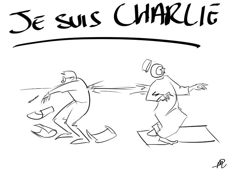 JeSuisCharlie by LittleTallThing
