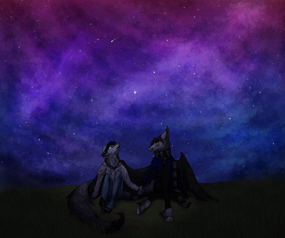 stargazing by Kattingtonn