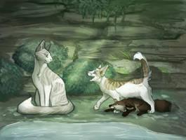 foxsitting by Kattingtonn