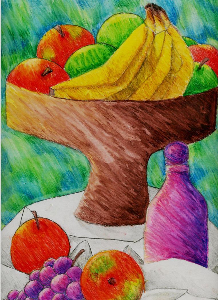 Painting Color Fruit