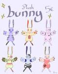 [Adopts] Bunny plush 5 euros by Noirou