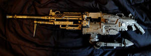 Steampunk Nazi Machinegun