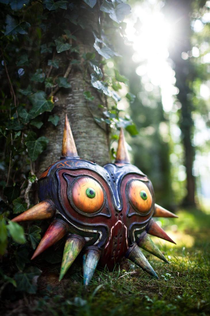 Majoras Mask - Wooden Replica by supermaRiio
