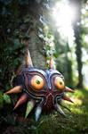 Majoras Mask - Wooden Replica