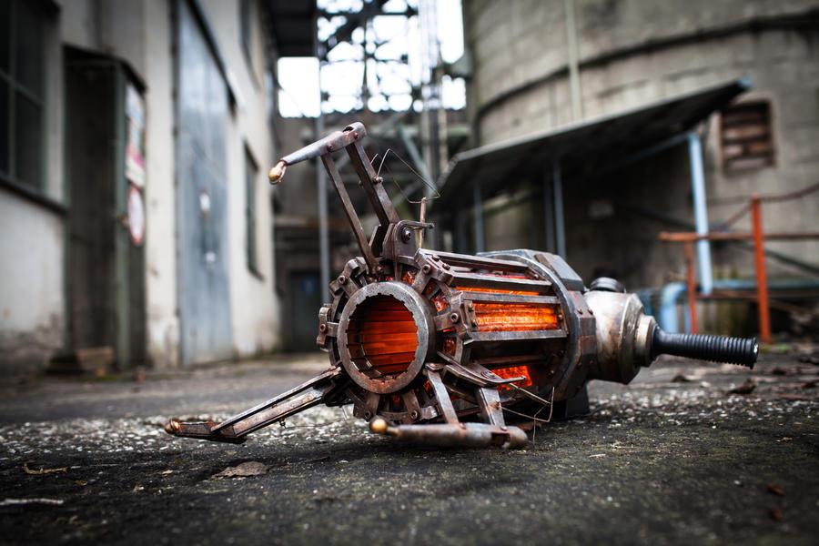 Half-Life 2 - Gravity Gun - Realistic Replica