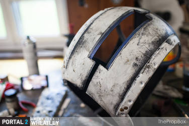 PORTAL 2 - Animatronic Wheatley - Replica (WIP)