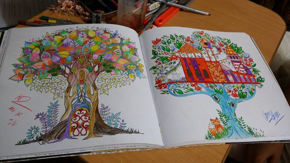 The secret garden - coloring book by masterkirie on DeviantArt