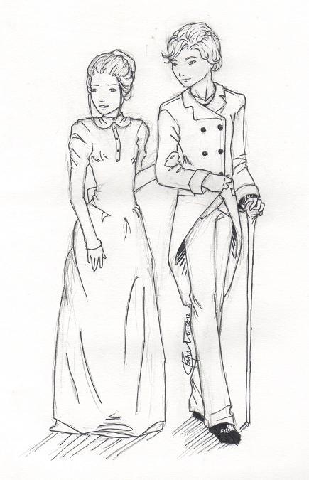 Jem and Tessa by chrysalisgrey on DeviantArt