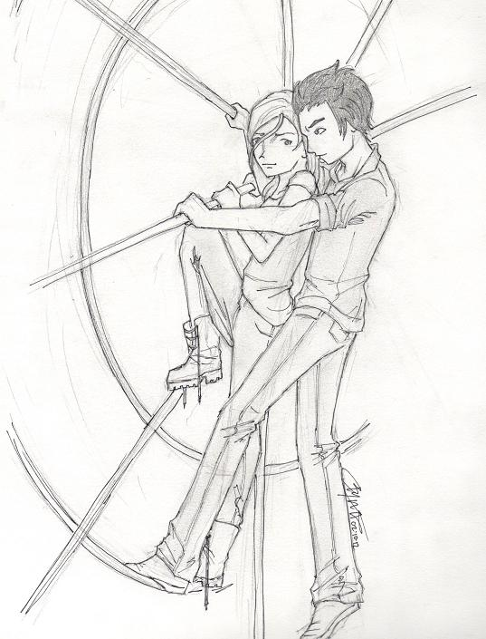 Ferris wheel by chrysalisgrey on DeviantArt