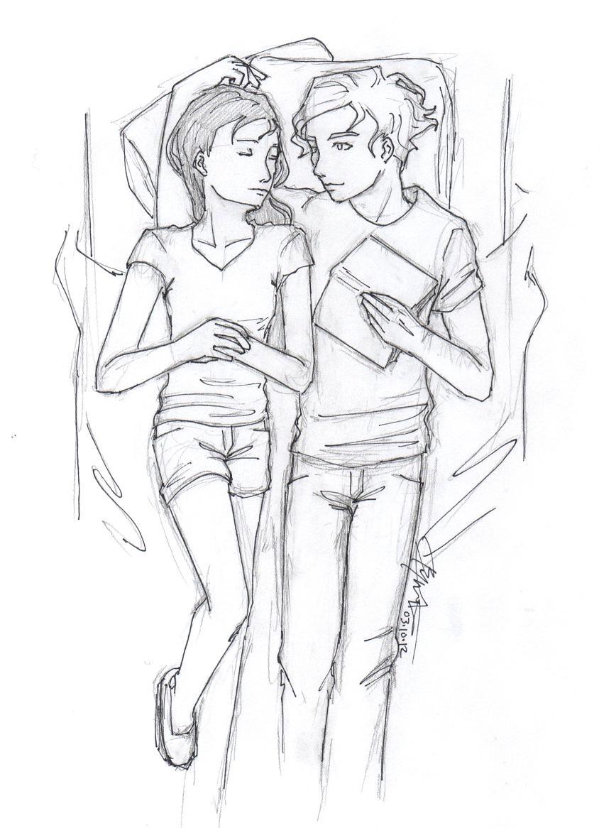 Lena and Alex by chrysalisgrey