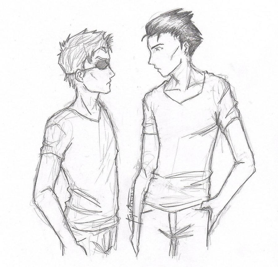 Edward and Peter by chrysalisgrey on DeviantArt