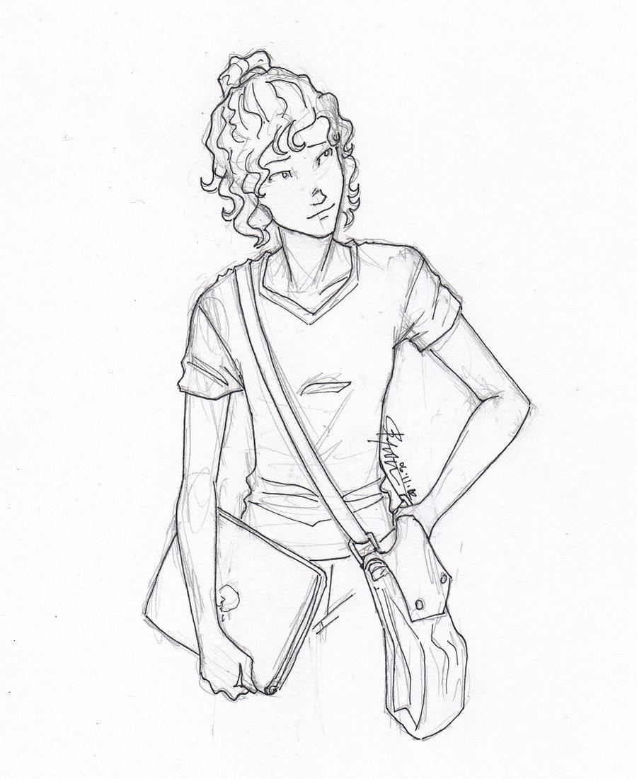 jackson annabeth drawings chase and Percy