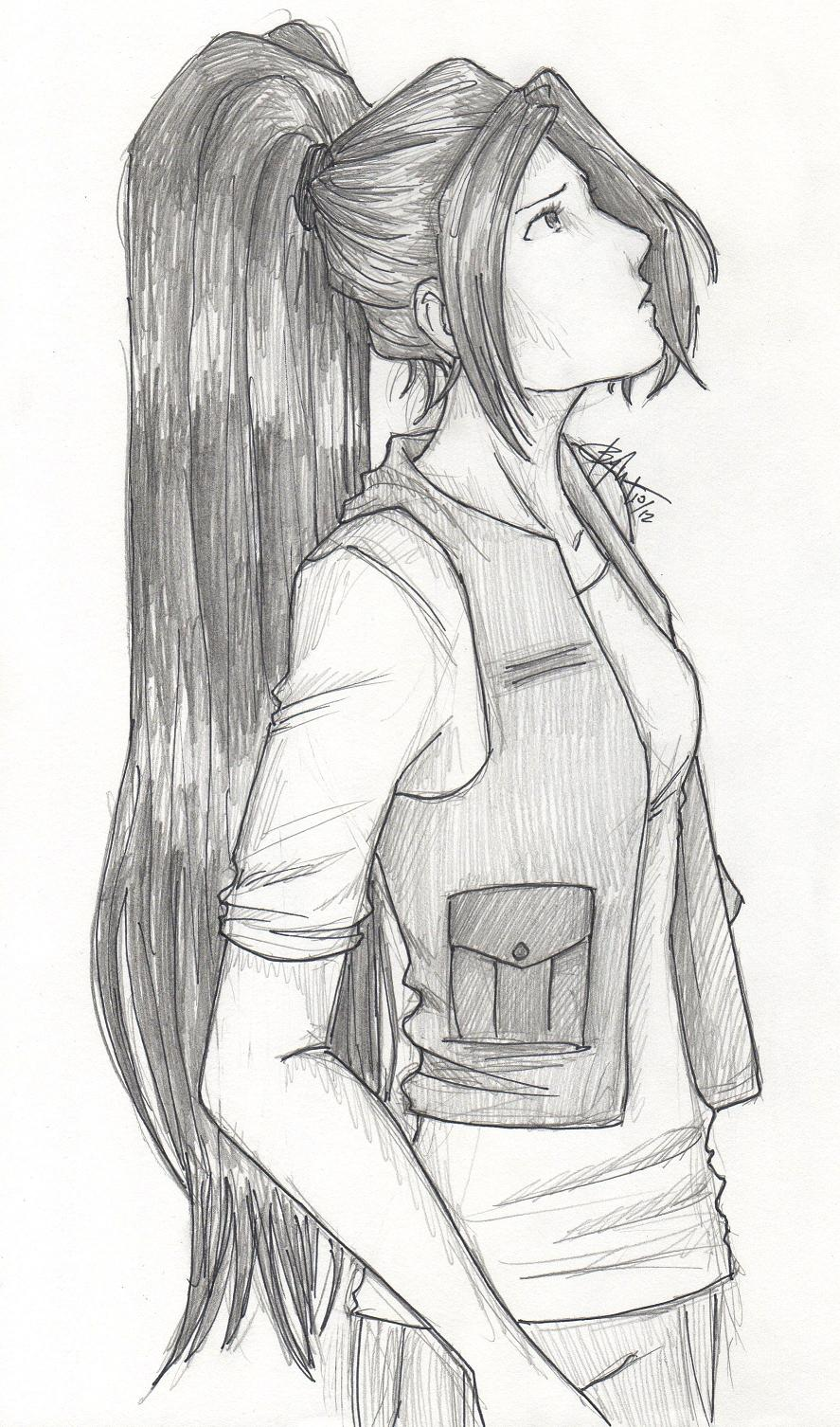 The Girl by chrysalisgrey