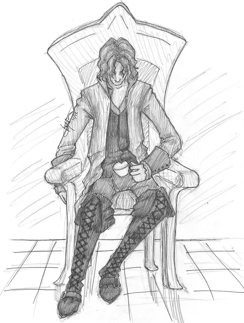 Rumpelstiltskin by chrysalisgrey on deviantart for Rumpelstiltskin coloring pages
