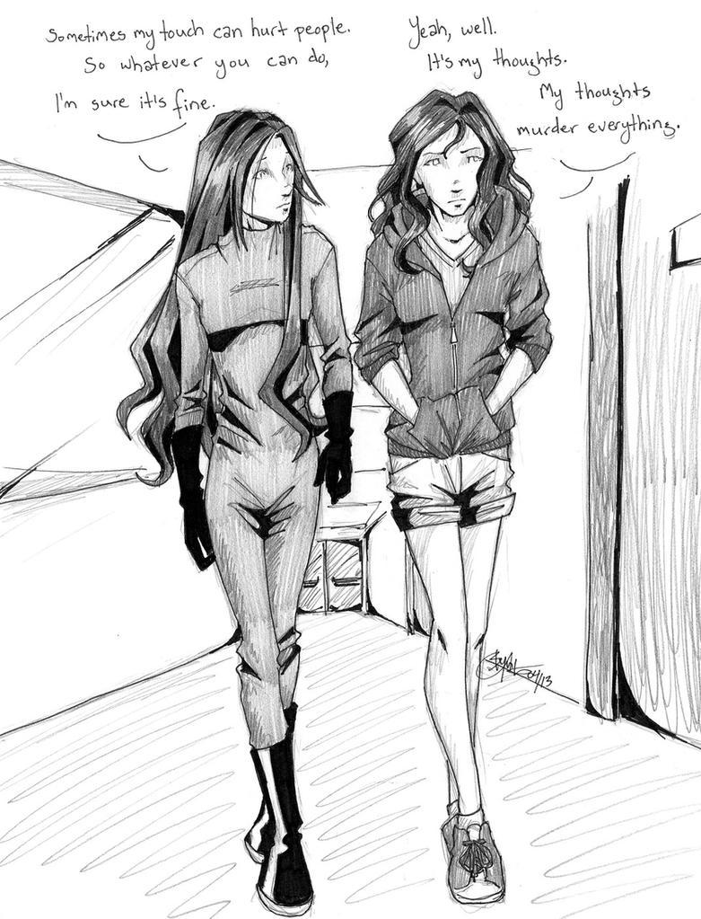 The Evolution Of Mara Dyer Juliette And Mara By Chrysalisgrey