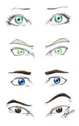 Shatter Me eyes by chrysalisgrey