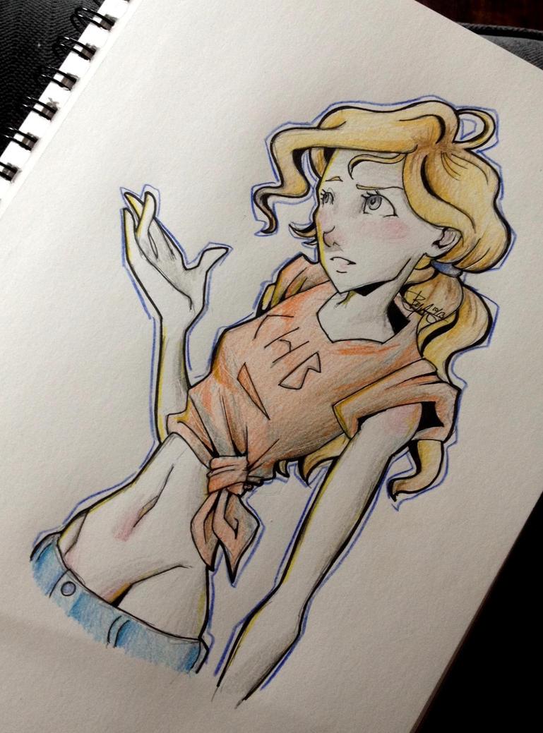 Annabeth Chase by chrysalisgrey