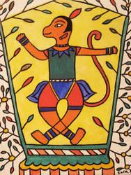 Hanuman by zarble
