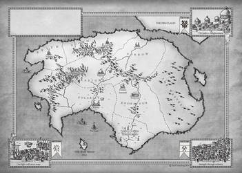 Commission: Fantasy World by Traditionalmaps