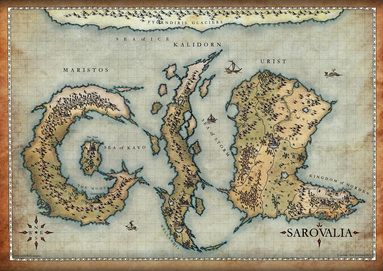 Commission 2017:  Sarovalia by Traditionalmaps
