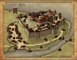 Commission 2017:  Castle Irim by Traditionalmaps