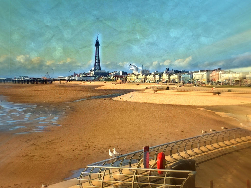 Greetings From Blackpool North! (Ryan Photo Edit) By