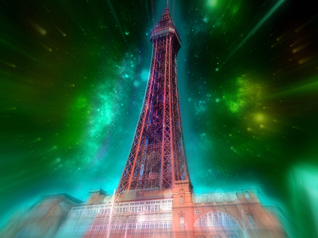 The Blackpool Tower (Ryan Photo Edit) By ConnieTheCasanova
