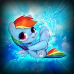 Rainbow Dash Chibi Edited (Torben COM3 4/10)