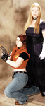Alexia and Claire Cosplay by ViralDragonfly
